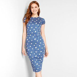 NWT Collectif Demira Gingham Daisy Dress Size 8